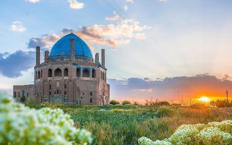 گنبد جهانی سلطانیه به استقبال بهار 1400 میرود