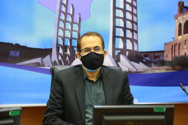 9 مصدوم در حادثه آتش واحد تولیدی دوا اخگر زنجان