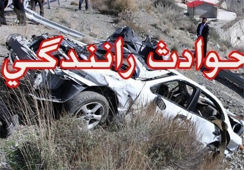 واژگونی سمند با یک کشته و 3 مصدوم در زنجان
