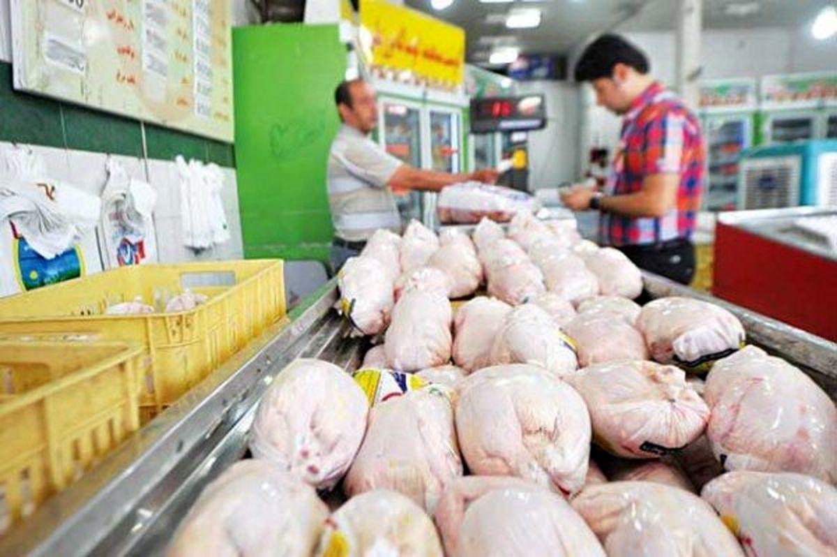 افزایش عرضه مرغ با افزایش قیمت مرغ گرم