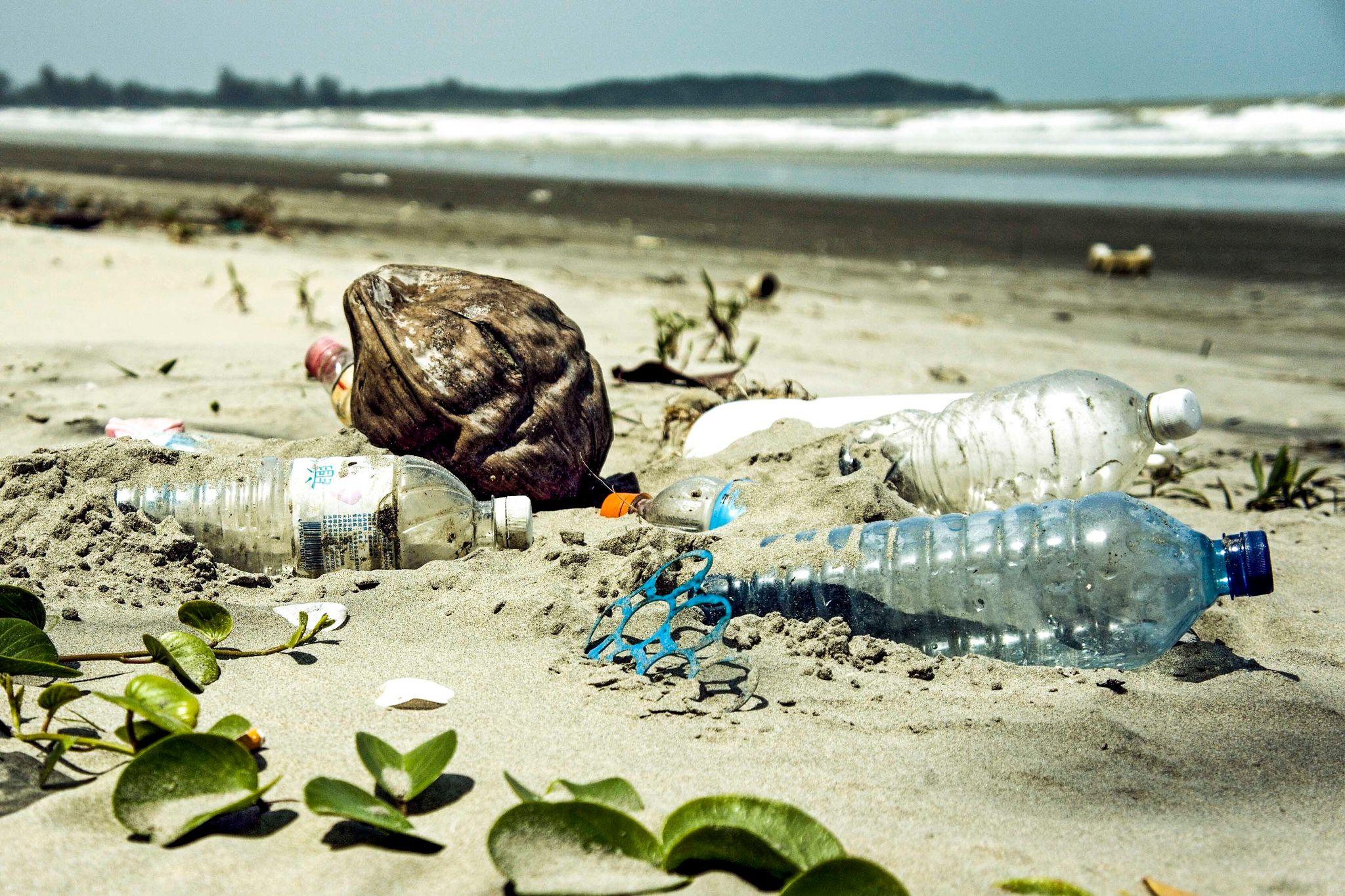 آیا می دانید بطری های شیشه ای و پلاستیکی رها شده در طبیعت می تواند خطر آفرین باشد؟