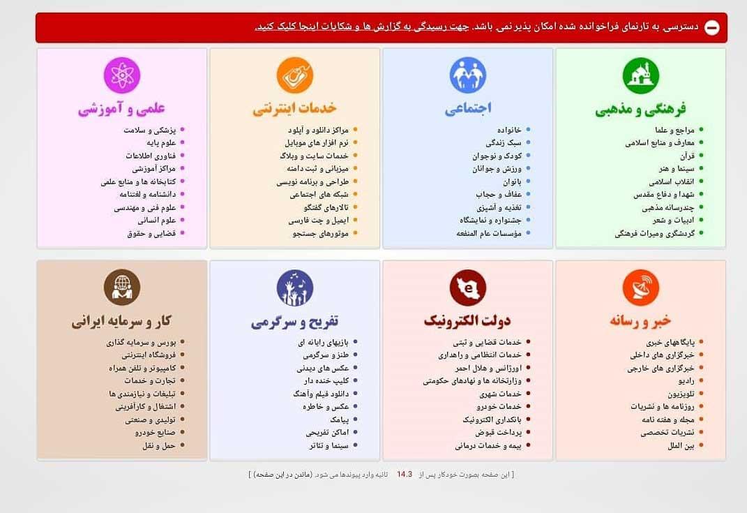 واقعیت فرایند فیلترینگ در ایران، به روایت رئیس سازمان فناوری اطلاعات