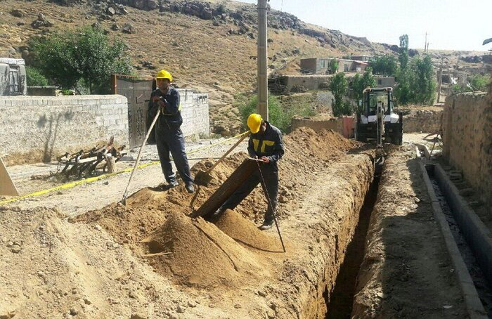 اجرای بیش از 7 هزار کیلومتر شبکهگذاری گاز در استان زنجان