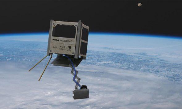امسال اولین ماهواره چوبی دنیا به مدار زمین فرستاده میشود