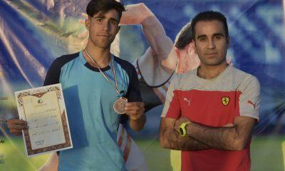 کسب مدال برنز توسط محمدرضا بیات در مسابقات قهرمانی دو و میدانی کشور