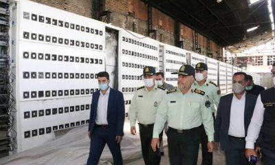 کشف بزرگترین مرکز استخراج غیرقانونی رمزارز در کشور