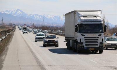 تردد بیش از 2 میلیون و 500 خودرو در محورهای مواصلاتی استان زنجان