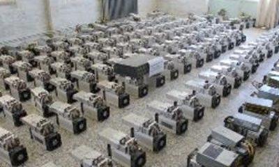 119 دستگاه ماینر قاچاق در زنجان کشف شد