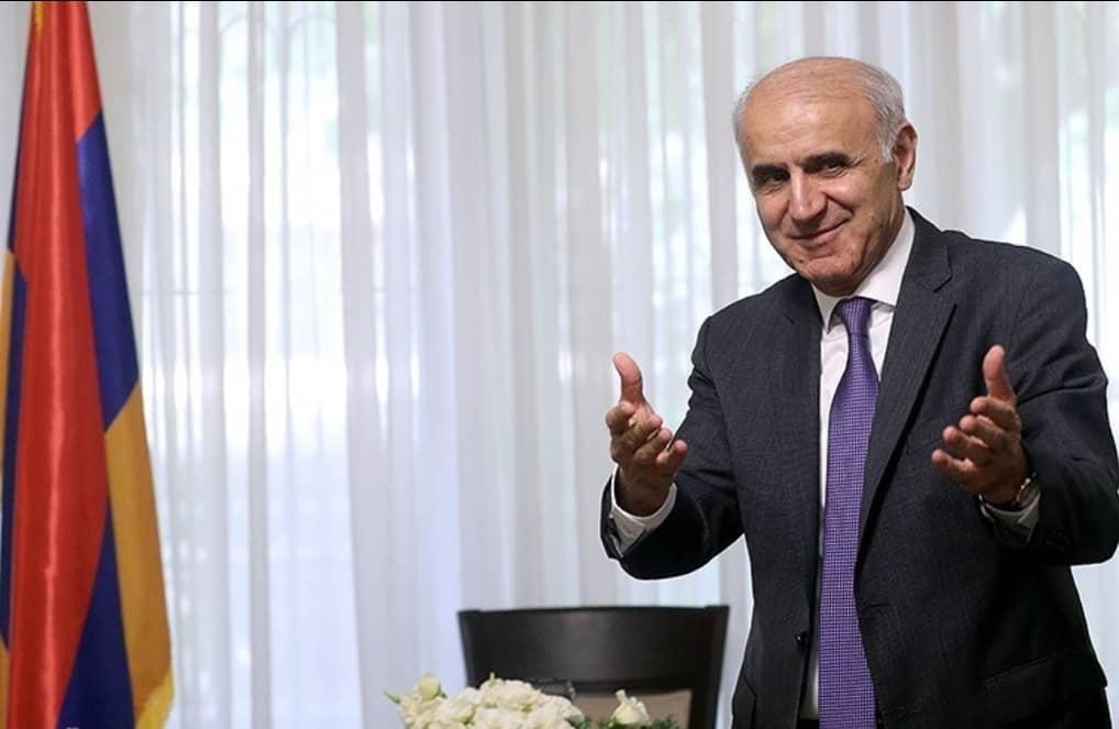 سفیر ارمنستان در راستای گسترس روابط تجاری به زنجان سفر می کند