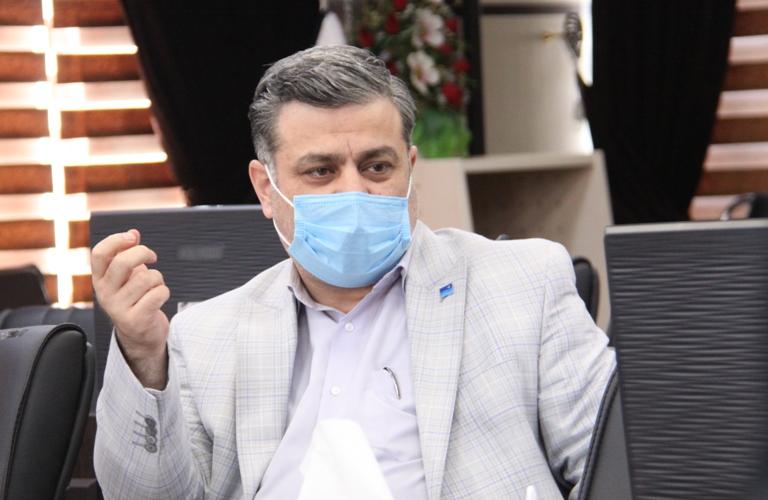 تجهیز سالن ورزشی شرکت آب منطقه ای زنجان جهت واکسیناسیون کرونا