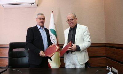 امضای تفاهم نامه همکاری تجاری بین اتاق بازرگانی زنجان و اتاق مشترک ایران و چین