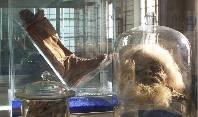 نمایش اشیاء مردان نمکی ۲۴۰۰ ساله زنجان در بوخوم آلمان