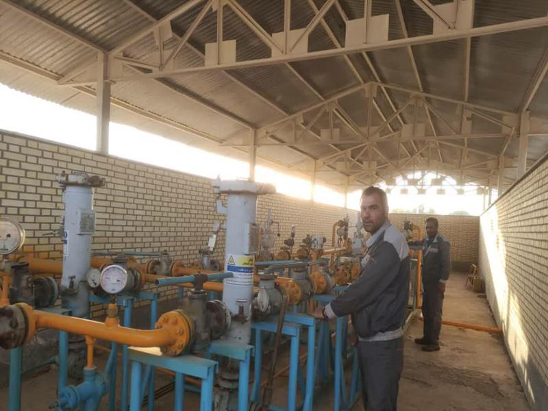 مشعل گاز38 واحد صنعتی در زنجان روشن شد