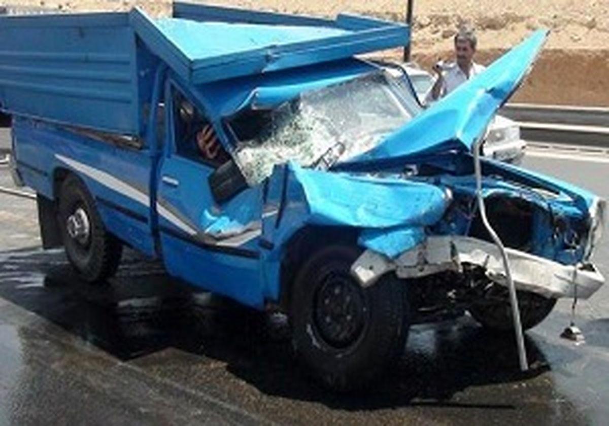 تصادف در زنجان یک کشته بر جای گذاشت