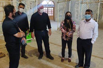 سفیر بنگلادش از گنبد سلطانیه بازدید کرد
