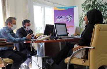 پاسخگویی سرپرست مخابرات زنجان در مرکز سامد