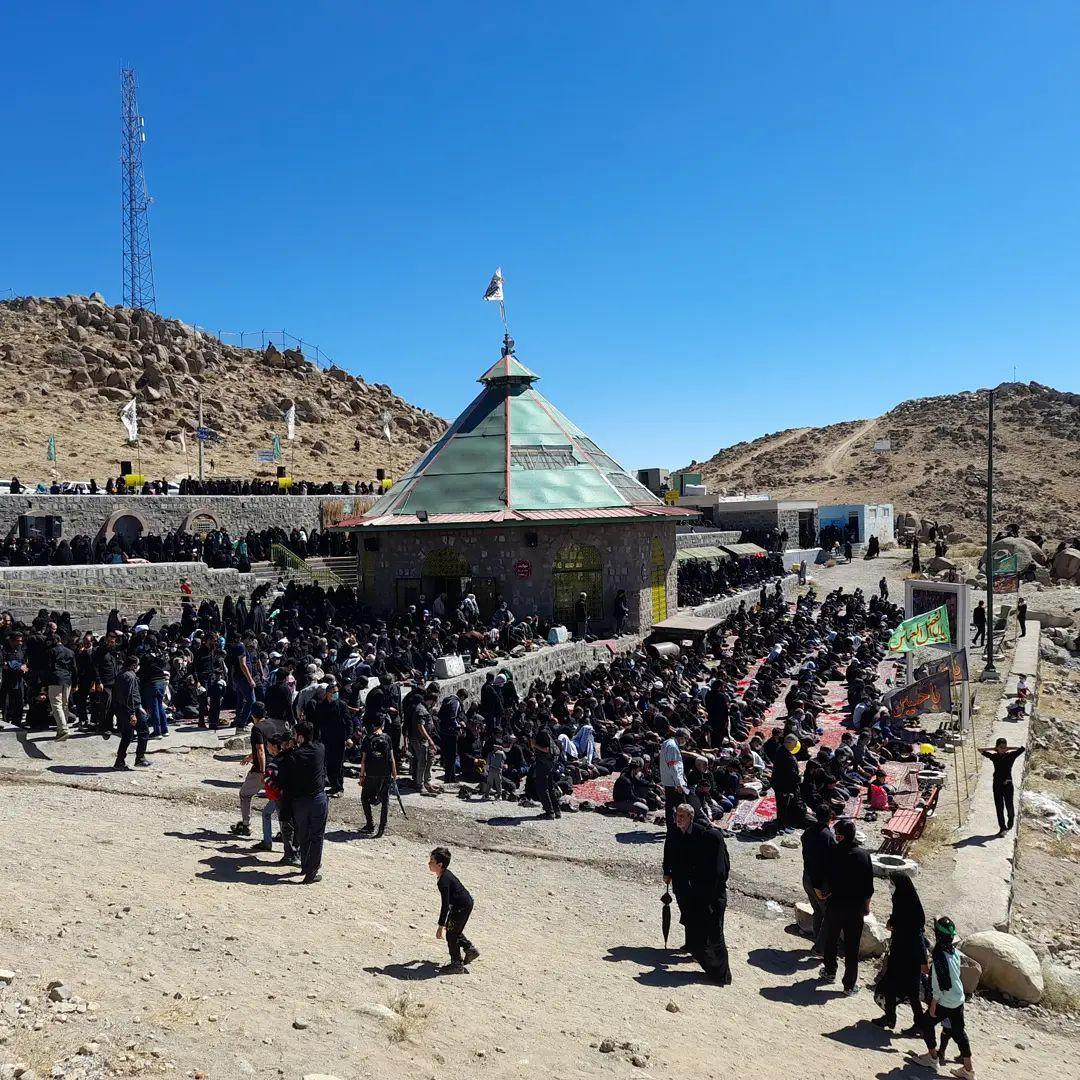 همایش راهپیمایی جاماندگان اربعین حسینی در زنجان برگزار شد