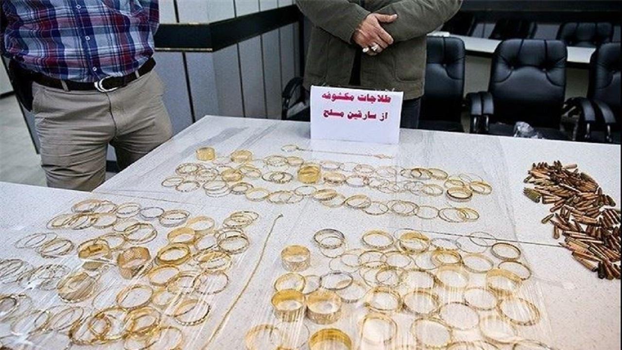 دستگيري اعضاي باند سارقان طلا در زنجان