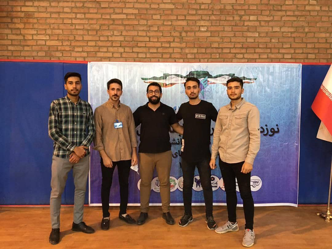 زنجان بر سکوی دوم مسابقات بتن ایستاد