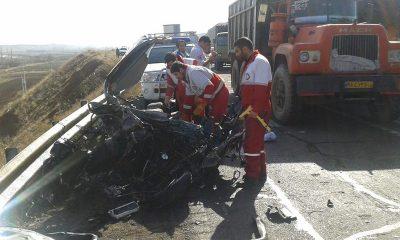 ارائه خدمات نیروهای امداد و نجات هلال احمر به 1433 حادثه دیده استان زنجان