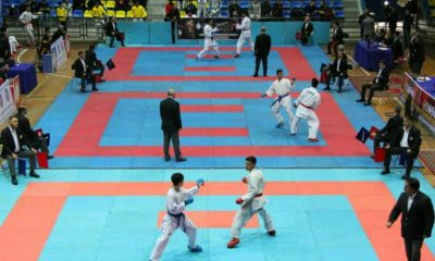 برگزاری مسابقات قهرمانی کشور کاراته در زنجان
